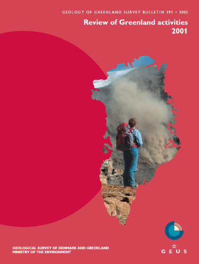 Cover image for Geology of Greenland Survey Bulletin
