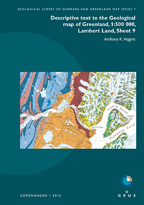 Cover image for Geological Survey of Denmark and Greenland Map Series (2004–2019)