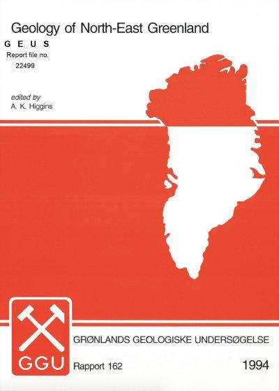 Volume cover for Rapport Grønlands Geologiske Undersøgelse