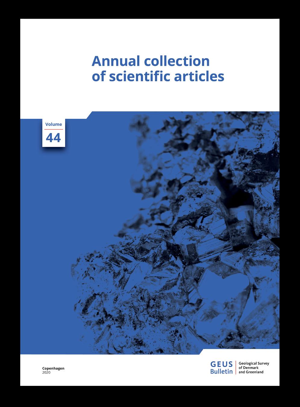 GEUS Bulletin cover